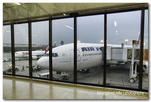 Guarulhos international airport, São Paulo